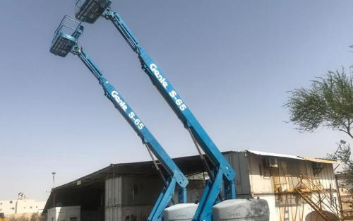 Manlifts Crane